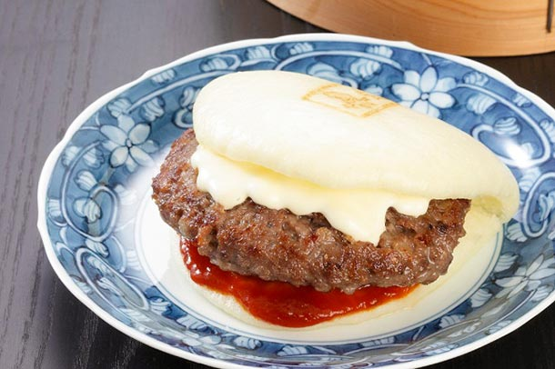 「岩崎本舗」白バーガー