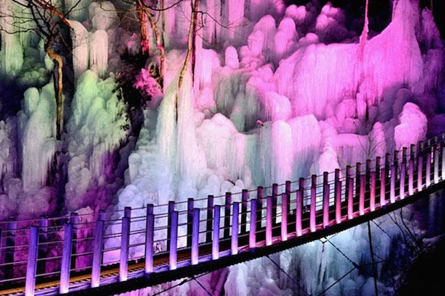 埼玉のつららが美しすぎる。一生に一度は見ておきたい 秩父 路三大 氷柱
