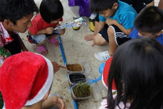 サンゴを守るのは君たちだ!環境教育から石垣島の子供に伝えたいこと