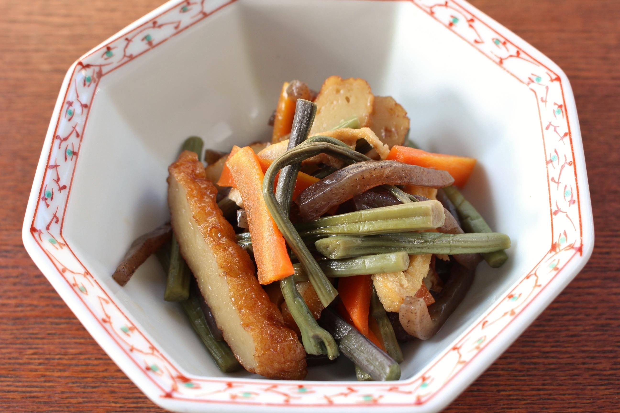 面倒なアク抜きよ、さらば!福島県産「塩わらび」でお手軽な郷土料理
