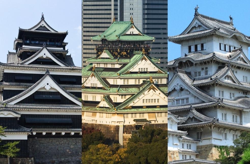 世界遺産や国宝級などの有名なお城から出題します。2枚の写真を見て、正解はどちらか、当ててみてください。天守閣の形や大きさ、城壁の色などがヒントです。レッツ・チャレンジ!