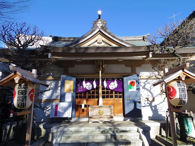 天正年間(16世紀後半)創建、江戸時代には伊賀衆に護られた隠田神社