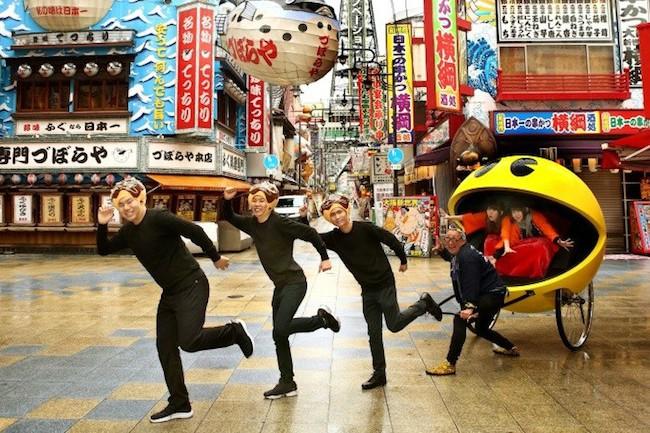 1980年代、誰もが夢中になったアーケードゲームの代表格といえば、あの黄色の丸い物体「パックマン」。そのパックマンが近年人力車になって出現していますが、今度は大阪にやってくるようですよ!