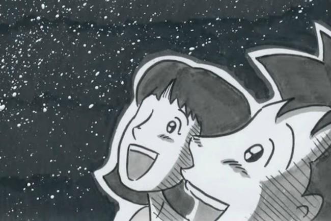 『振り子』をはじめ、大人気の泣けるパラパラ漫画作品を数々制作してきた鉄拳さん。