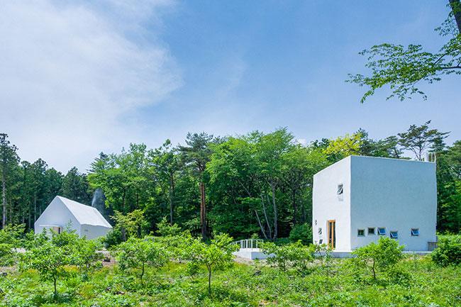 森に真っ白な建物を作ったわけ。那須塩原の自然は「公園の父」から始まった