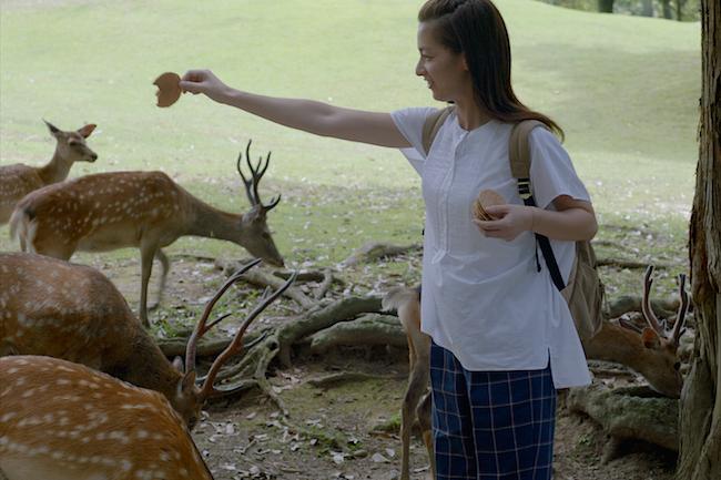 おとな女子の本音がポロリ。尾野真千子と行く奈良公園の動画