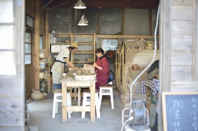 地元民も知らない秘密の鎌倉。たからの庭で創作和菓子・陶芸を体験