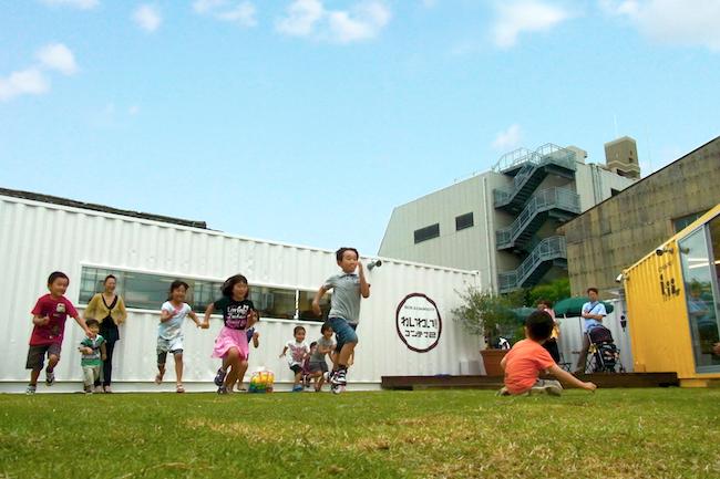 空き地が遊びと挑戦の場に変身!?子どもも大人も集まる街なかコンテナ
