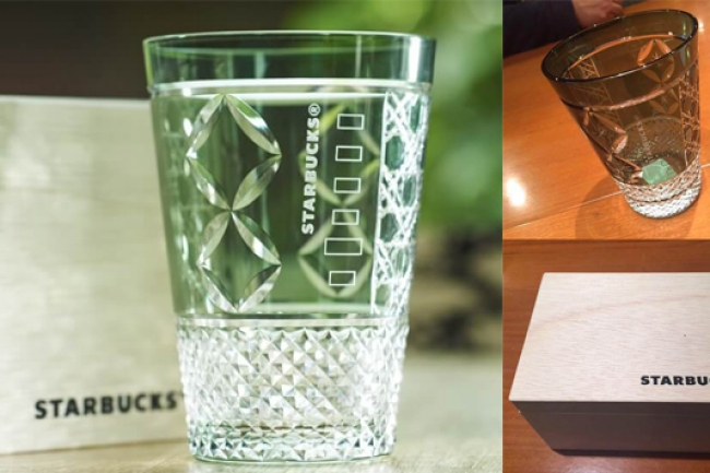 スタバと伝統工芸がコラボ。墨田区限定『江戸切子グラス』が贅沢すぎる
