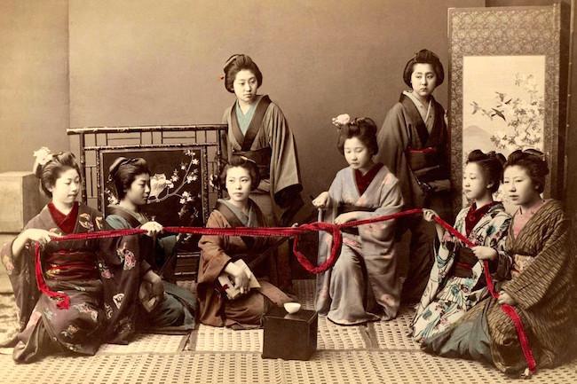 【複製】西洋人が涙した美しさ。幕末の写真家が撮った「明治時代」の着色写真