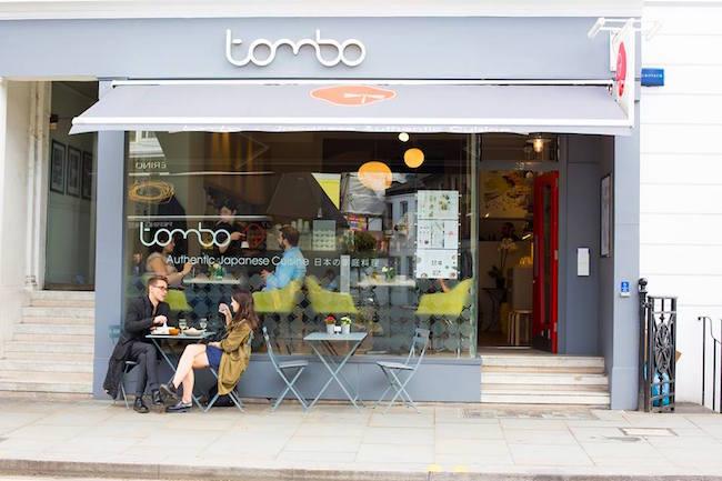 ロンドンの街に佇む抹茶カフェ。 image by: Tombo Facebook
