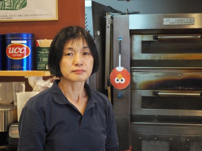 ▲「汎茶」(ぱんさ)店長の髙本敏江さん