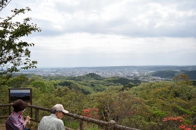 そんなに高い山ではありませんが、見晴がとても良い!