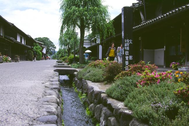 海野宿(北国街道・東御市)