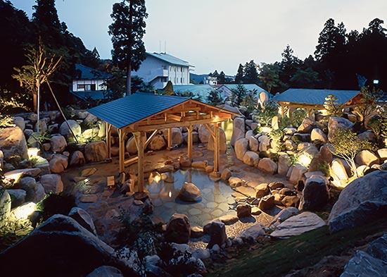 新潟県五頭温泉郷 村杉温泉 風雅の宿 長生館